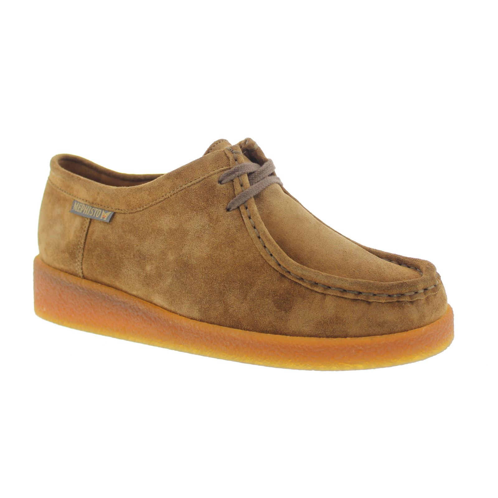 Mephisto Christy Tobacco Womens Suede