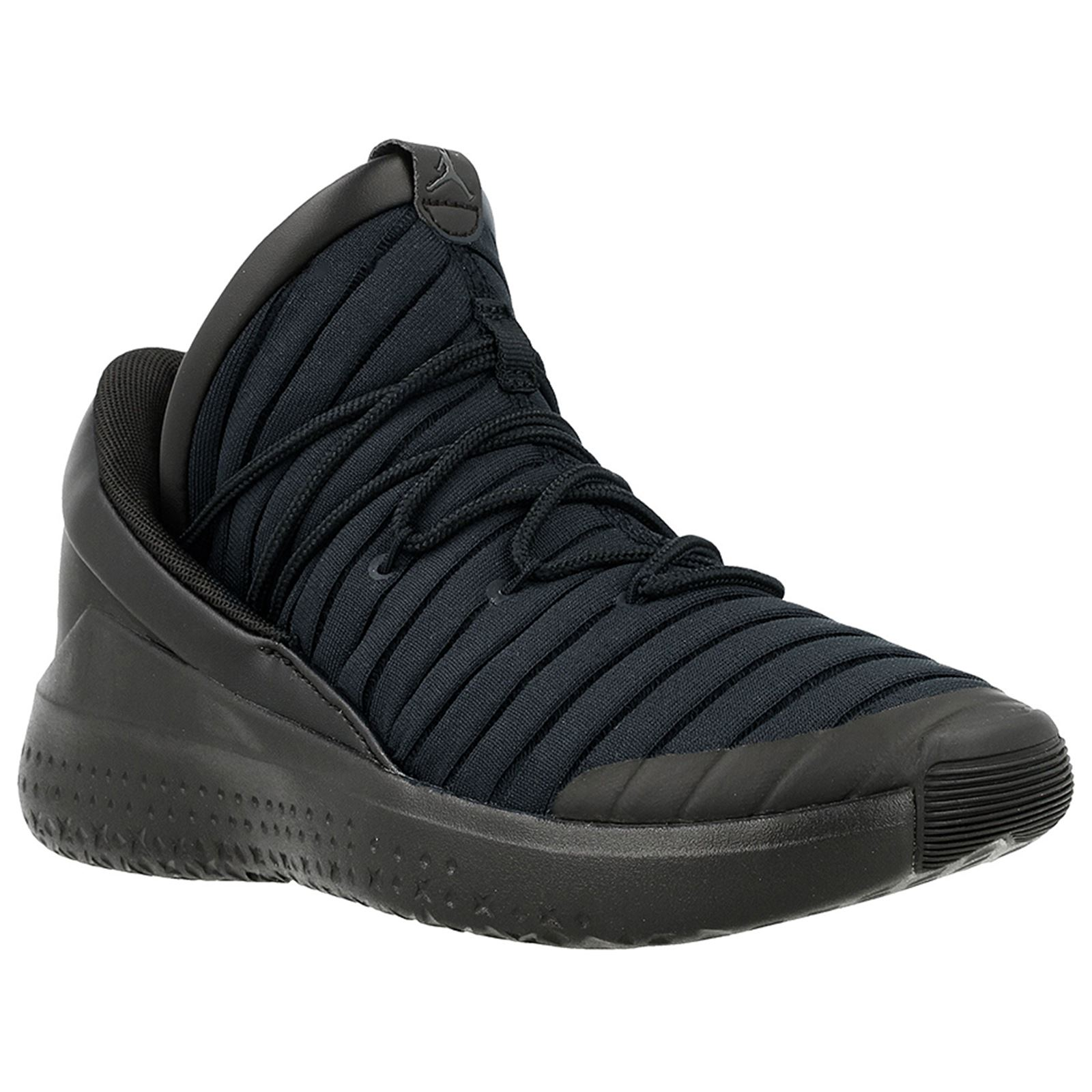 c971dd2b0c4cc6 Details about Nike Jordan Flight Luxe Black Anthracite Youth Lace-up  Low-Top Sneakers Trainers
