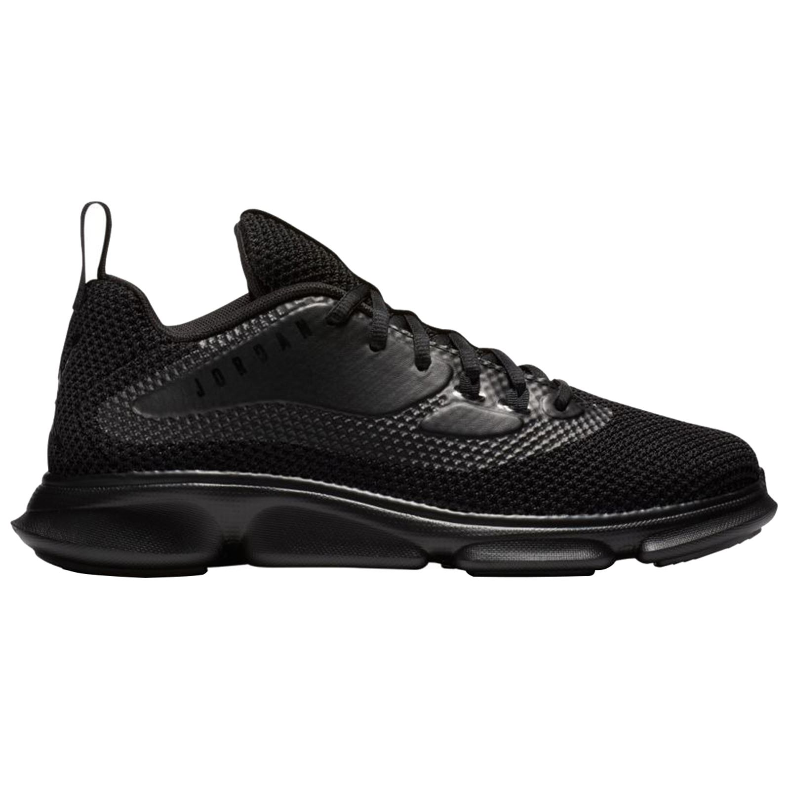 85fa4bf2c6519 Details about Nike Jordan Impact Training Black Mens Mesh Lace-up Trainers