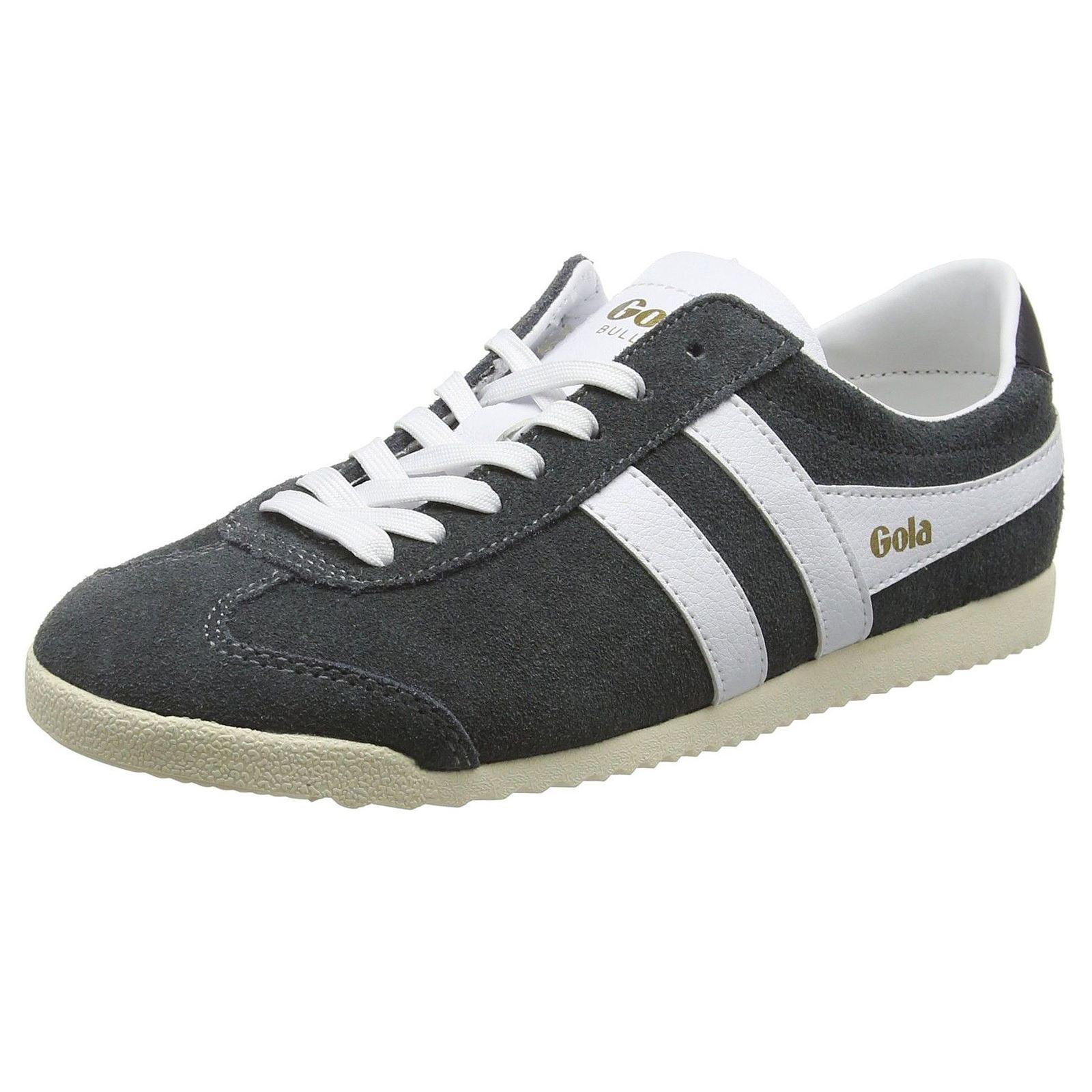 Gola Classics Bullet Grey White Womens Retro Sneakers Trainers Ebay