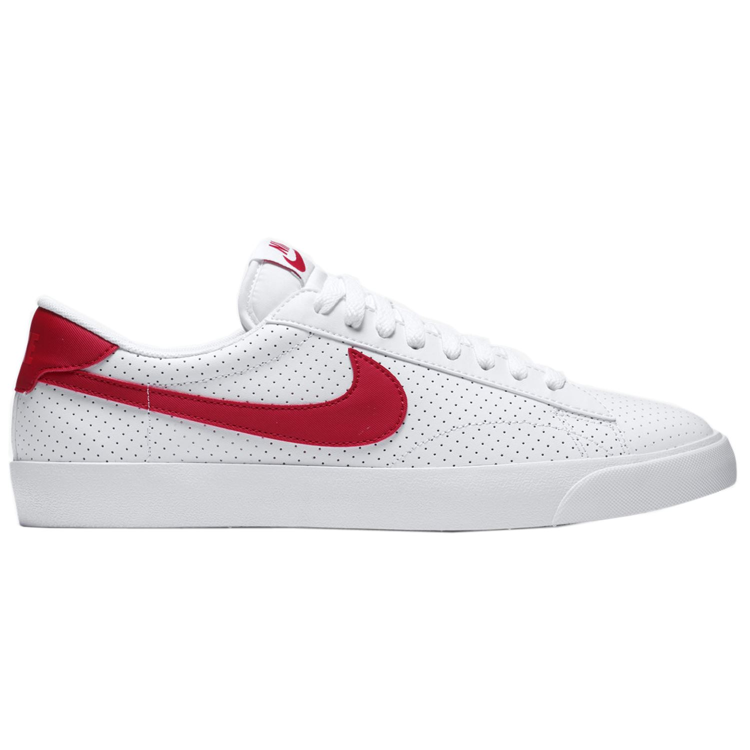 nike tennis classic ac white red mens trainers ebay. Black Bedroom Furniture Sets. Home Design Ideas