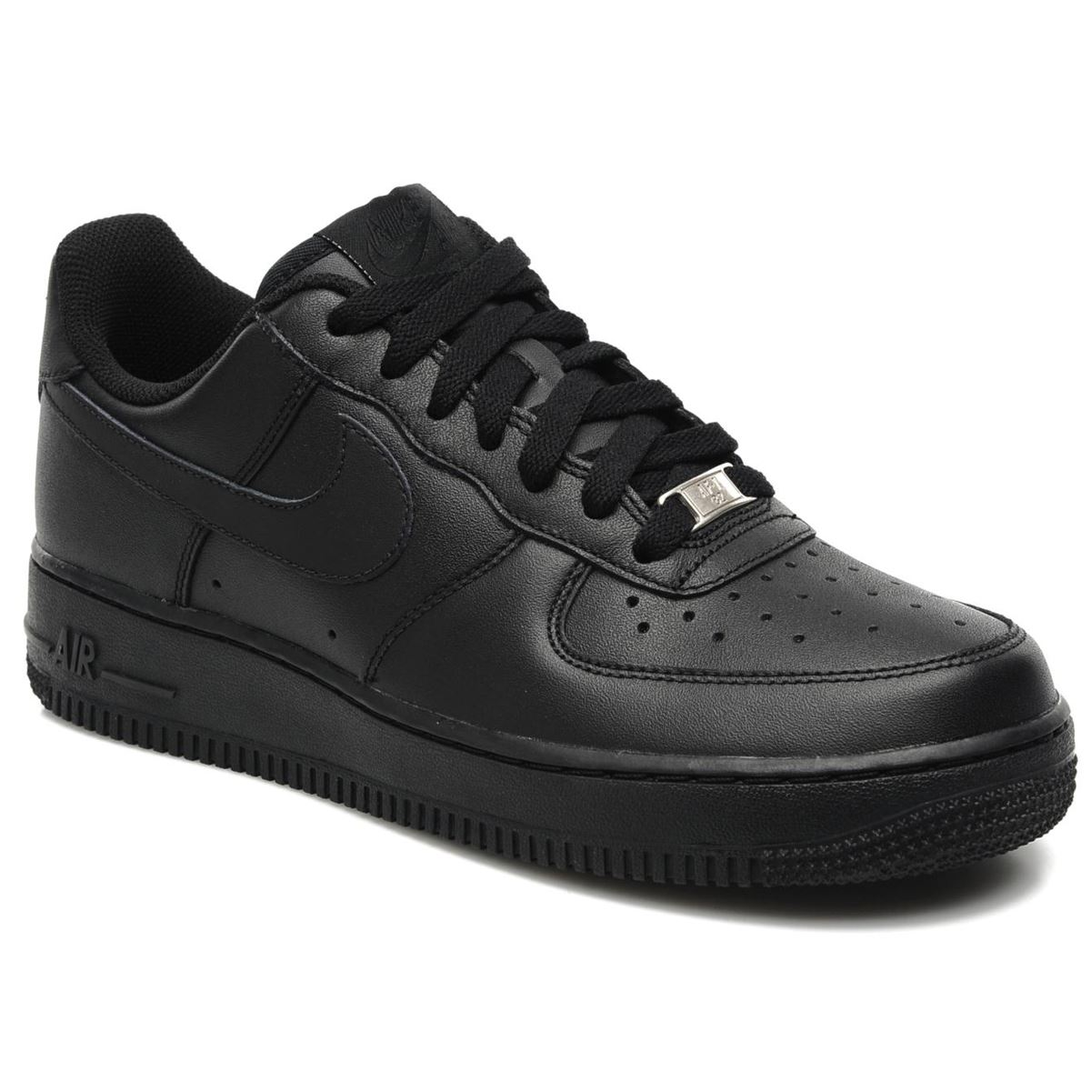 Air Force  Shoes Black And Gold