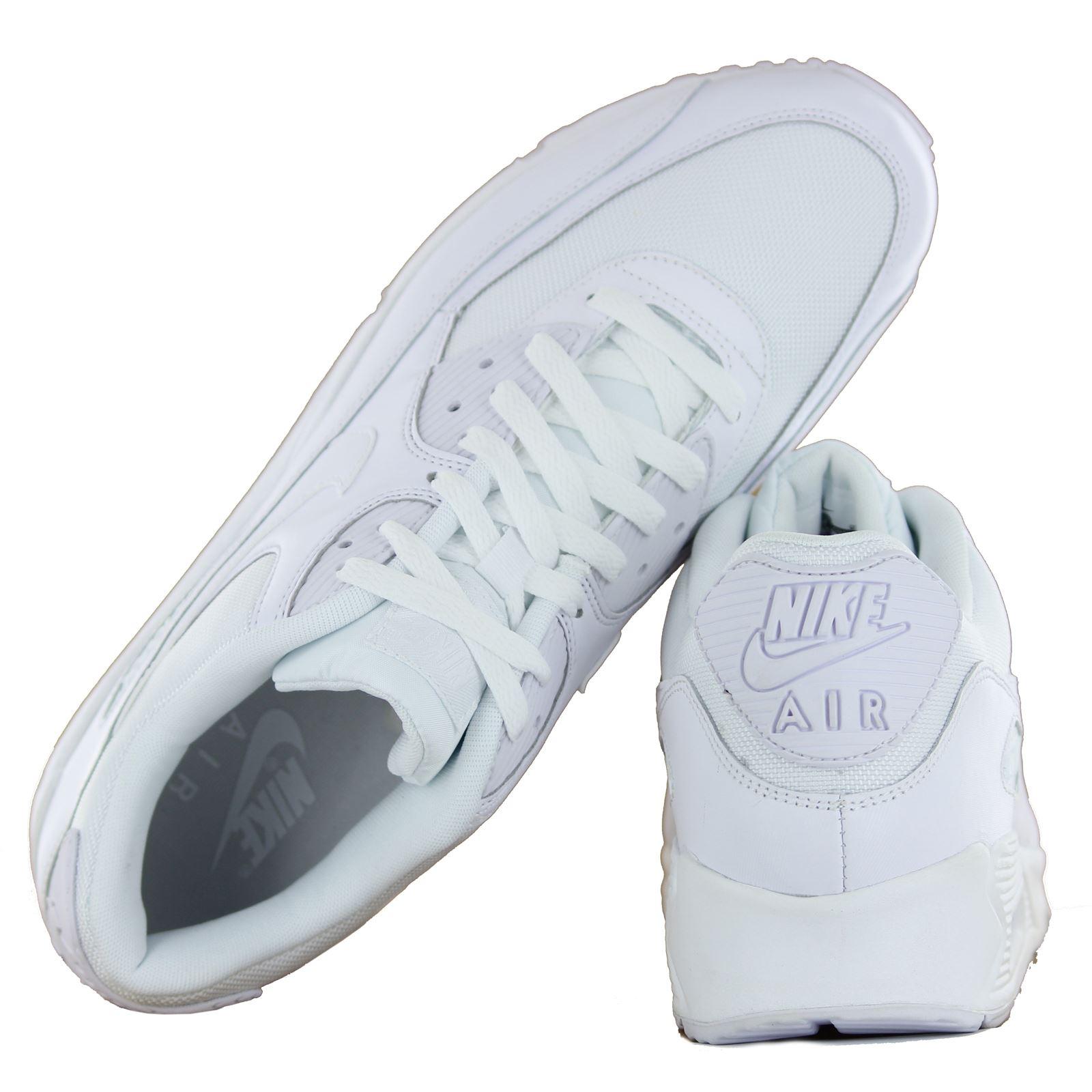 Nike Air Max 90 Cuero Blanco Sitio Oficial De Ebay QIaCeju