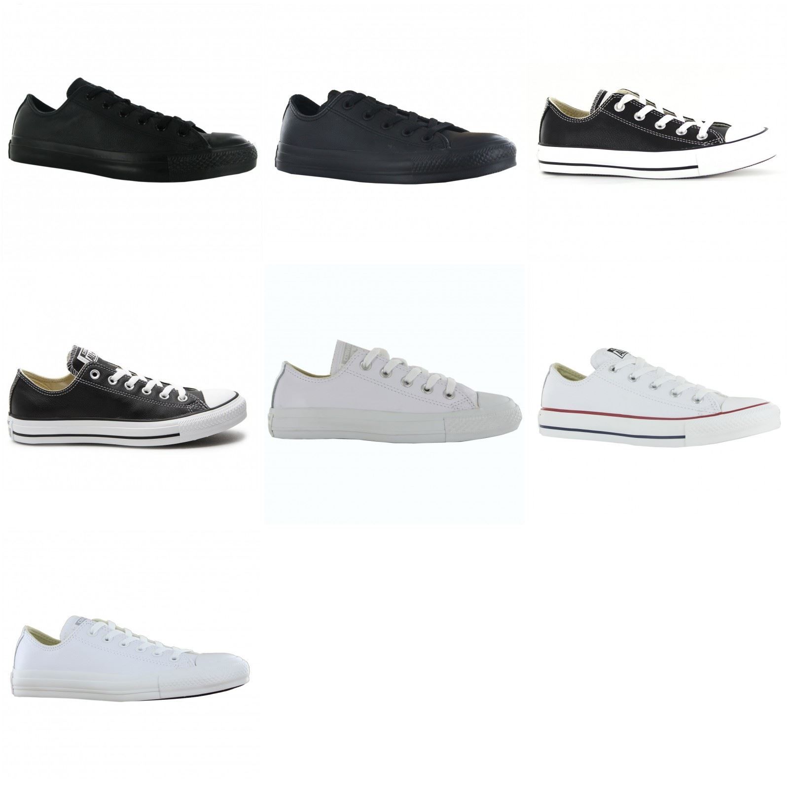 8155cf7cd Converse Chuck Taylor All Star Ox Leather Mens Womens Ladies Unisex Trainers