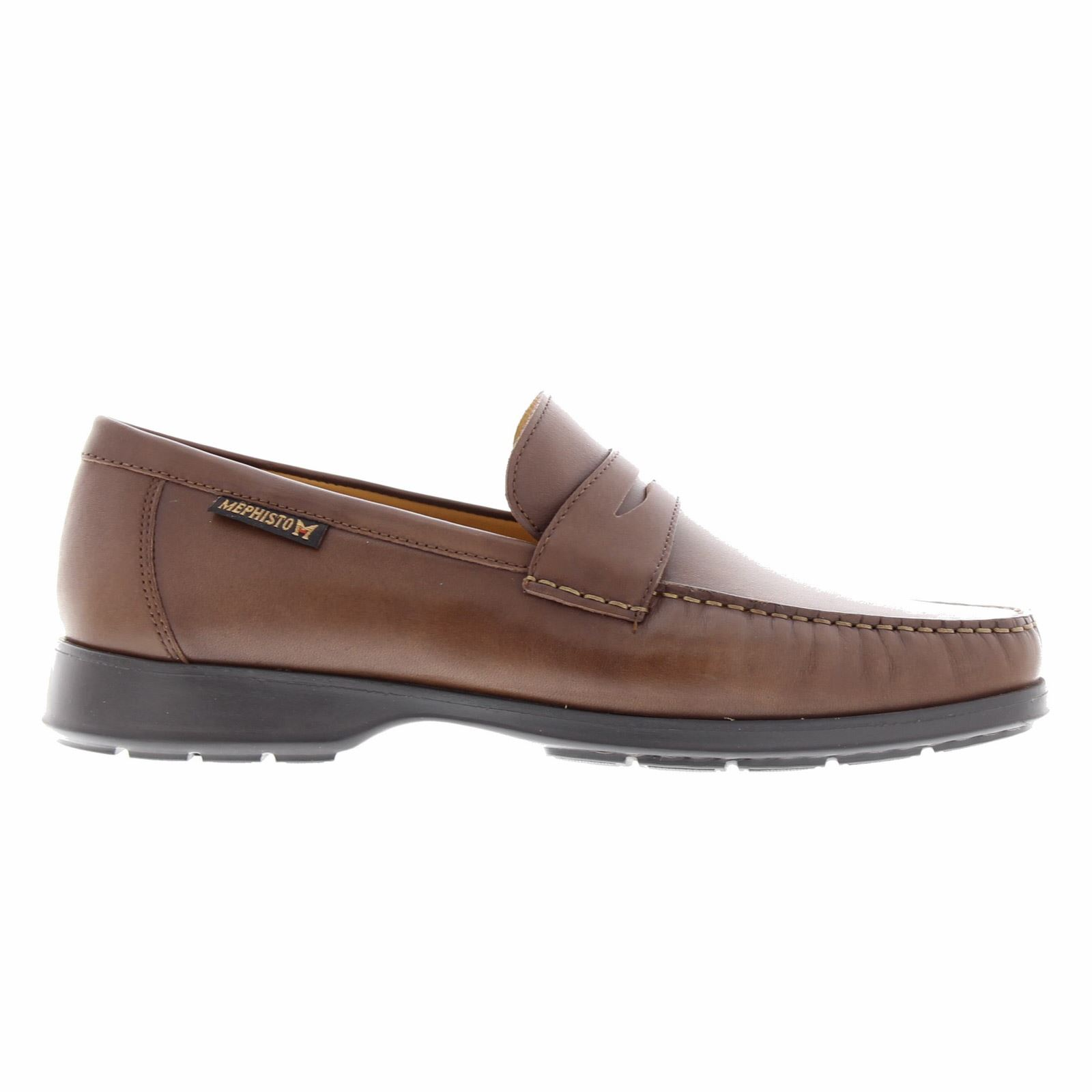 6e9691807a Description  Howard Mens brown Loafer by Mephisto ...