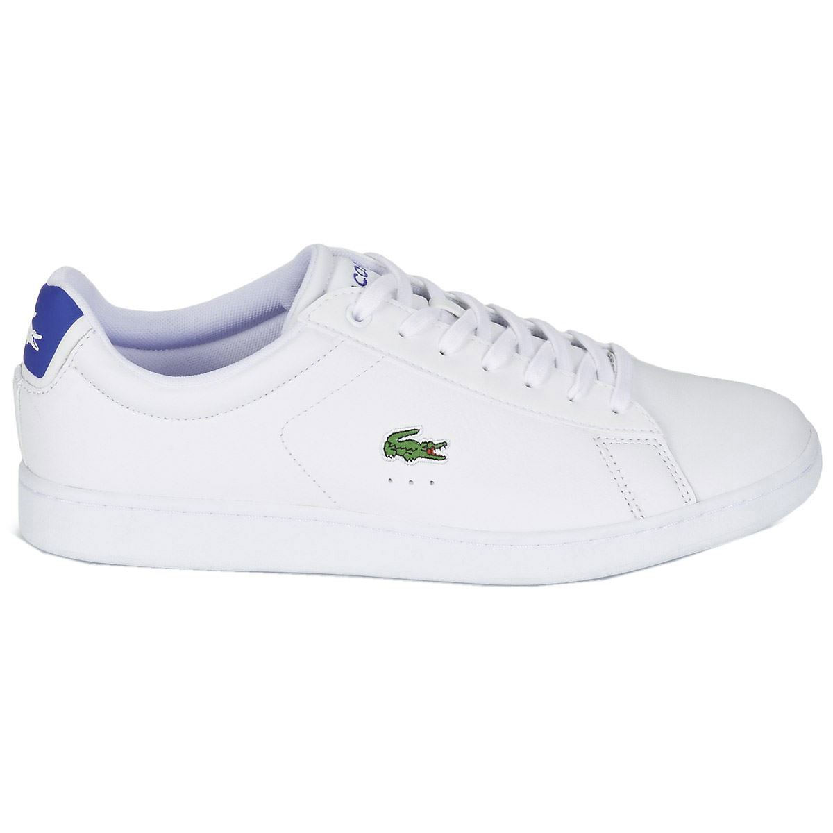 Image is loading Lacoste-Carnaby-EVO-S216-2-SPM-White-Blue-