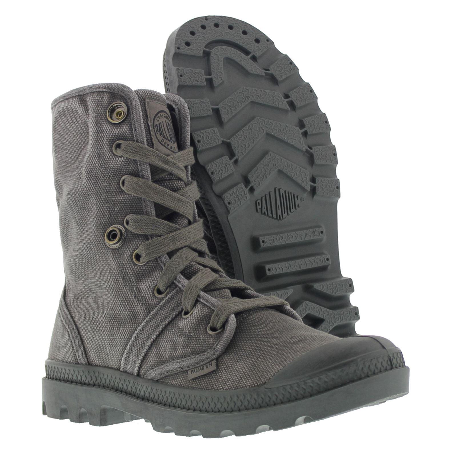 Détails sur Palladium Pallabrouse Baggy Bottines Femme Boots Combat afficher le titre d'origine