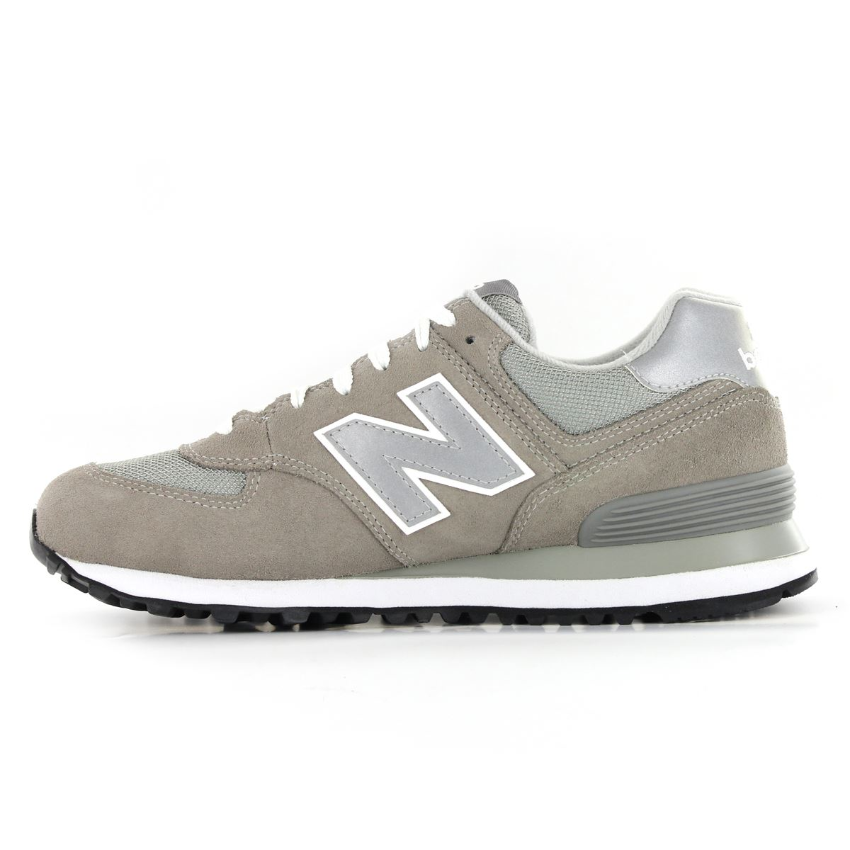 new balance classic traditionnels m574 leather mens trainers. Black Bedroom Furniture Sets. Home Design Ideas