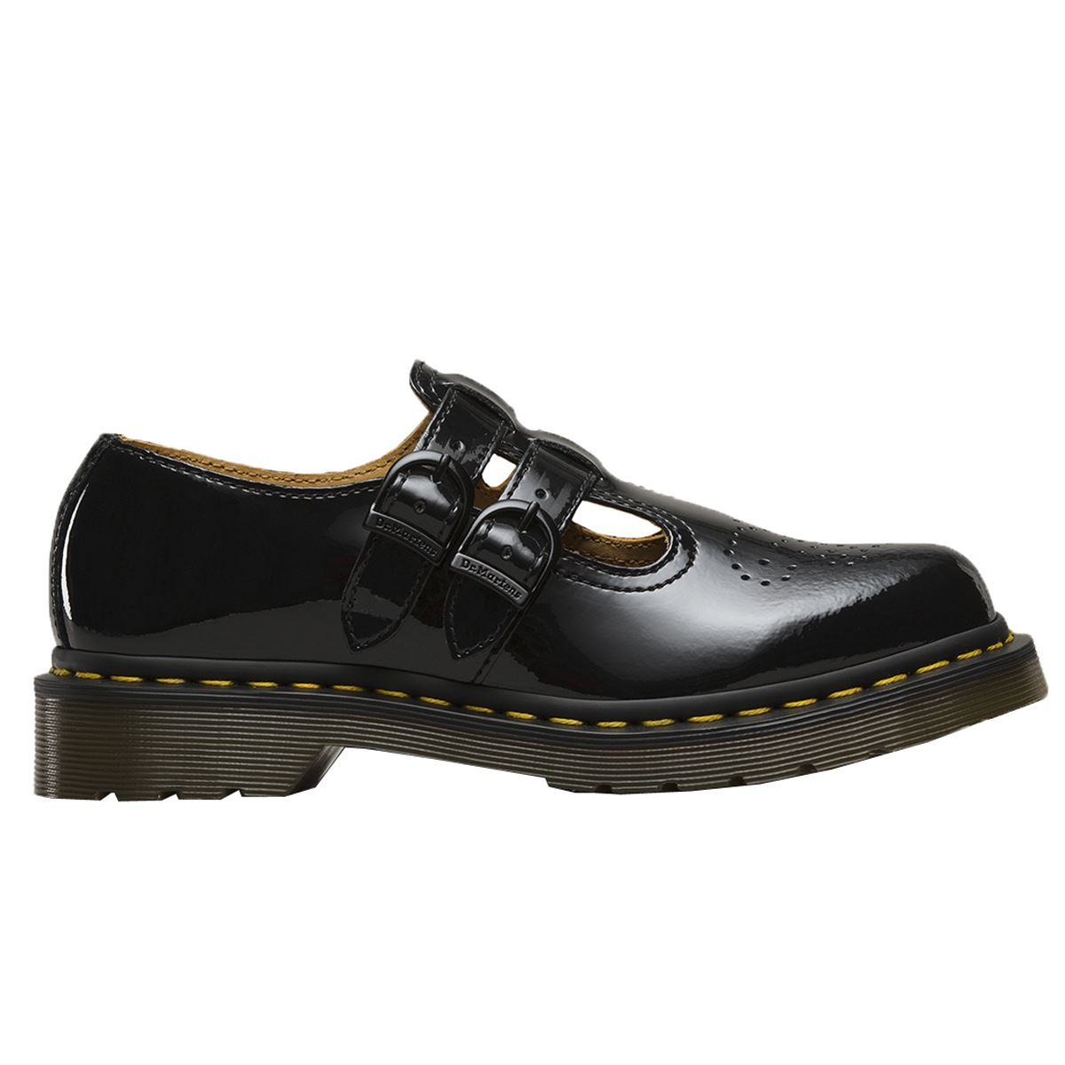 Details about Dr.Martens 8065 Patent Lamper Black Womens Mary Janes Patent  Leather Upper 6b124e67f
