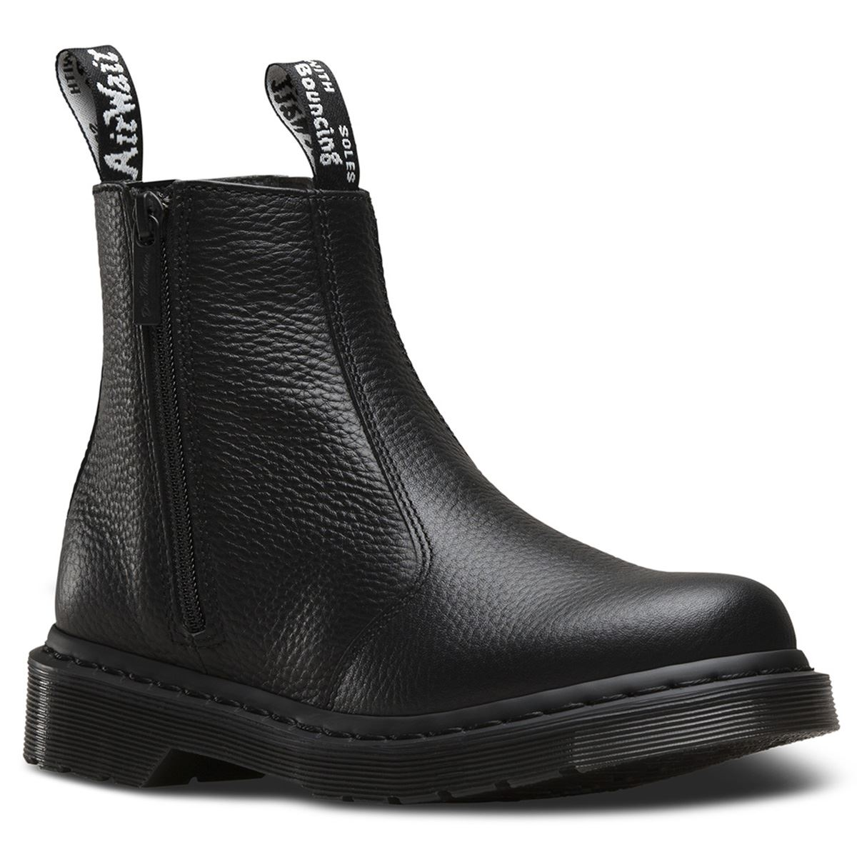 47373bf6865 Description: The black Dr. Marten's 2976 with zips Chelsea boots ...
