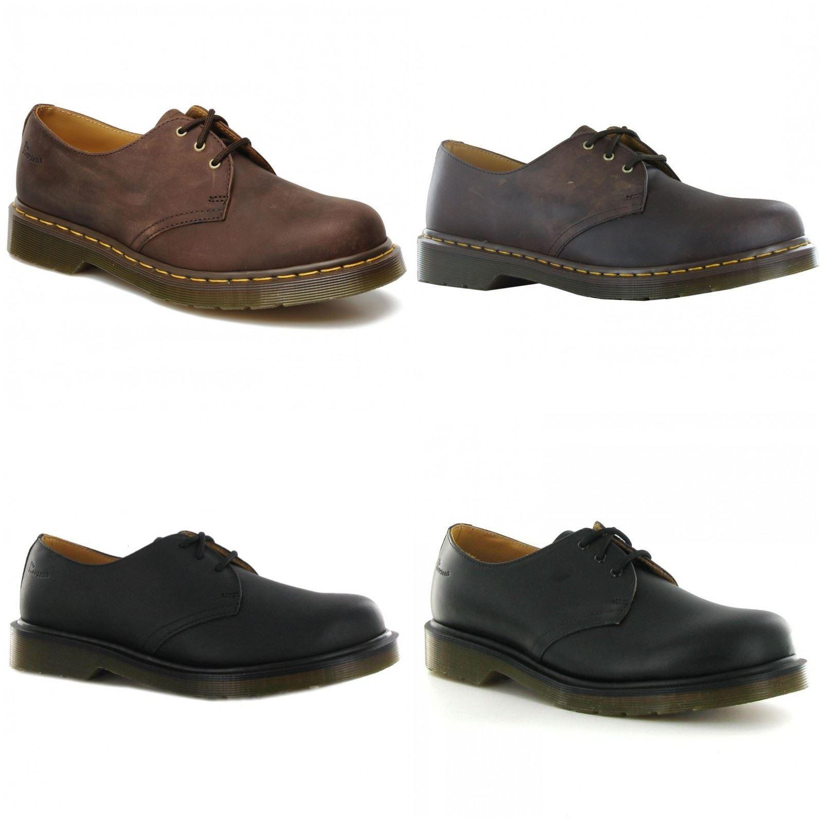 Details about Dr.Martens 1461 Crazy Horse Leather Unisex Mens Womens Ladies  Shoes 36198a805