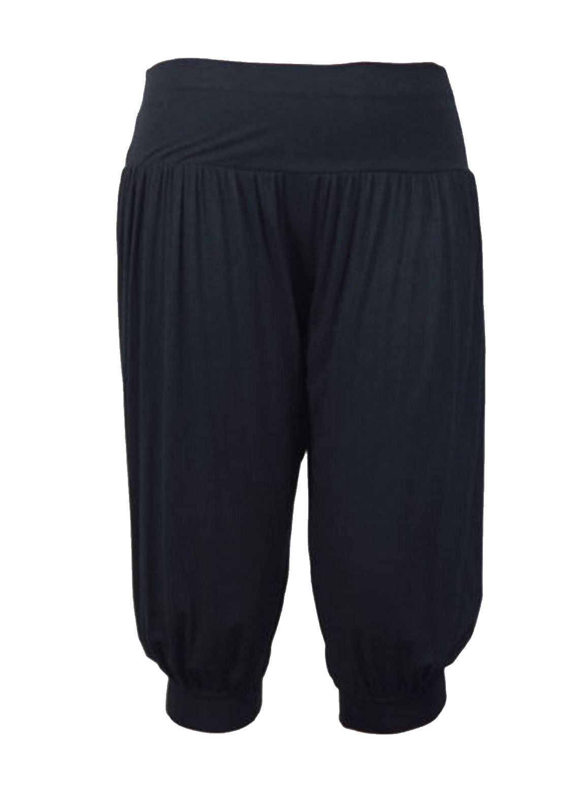 Ladies 3//4 Hareem Ali Baba Baggy Trousers Pants Womens Crop Shorts Leggings