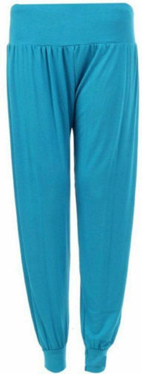 Ladies-Plus-Size-Printed-Harem-Pants-Cuffed-Bottom-Ali-Baba-Womens-Trousers-8-26 thumbnail 10