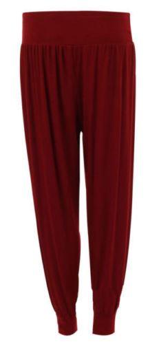 Ladies-Plus-Size-Printed-Harem-Pants-Cuffed-Bottom-Ali-Baba-Womens-Trousers-8-26 thumbnail 12