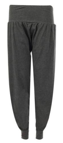 Ladies-Plus-Size-Printed-Harem-Pants-Cuffed-Bottom-Ali-Baba-Womens-Trousers-8-26 thumbnail 3