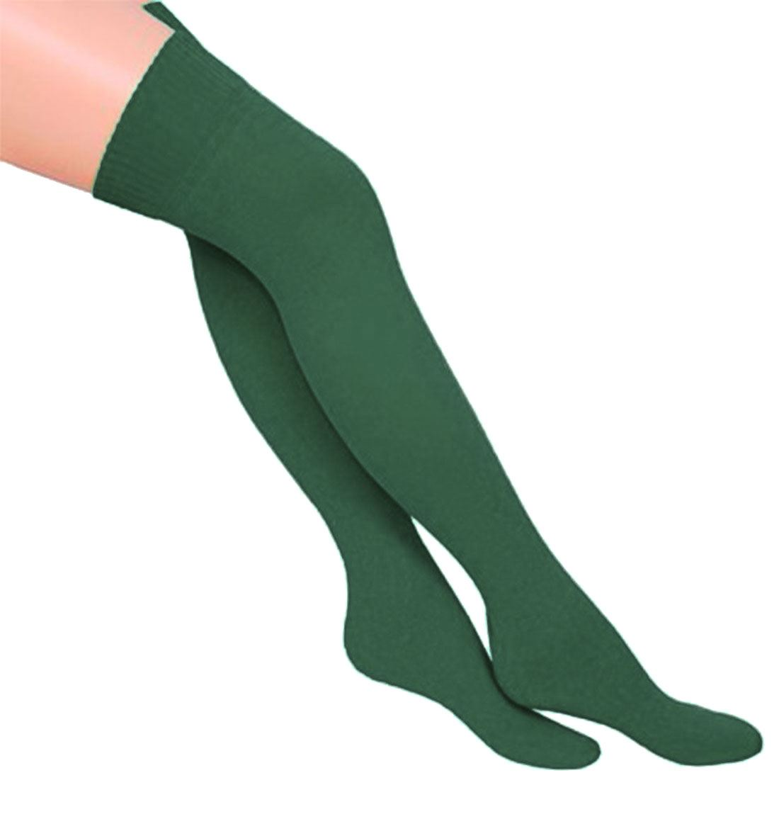 Womens-Over-The-Knee-Thigh-High-Fancy-Socks-Ladies-Plain-Casual-Wear-OTK-Socks thumbnail 6