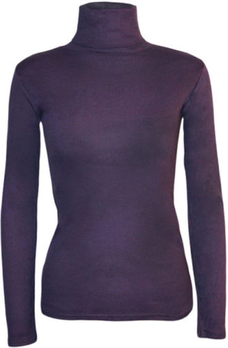 Ladies-Plain-Full-Sleeve-Polo-Roll-Neck-Jumper-Top-Womens-Turtle-Neck-Jumper thumbnail 16
