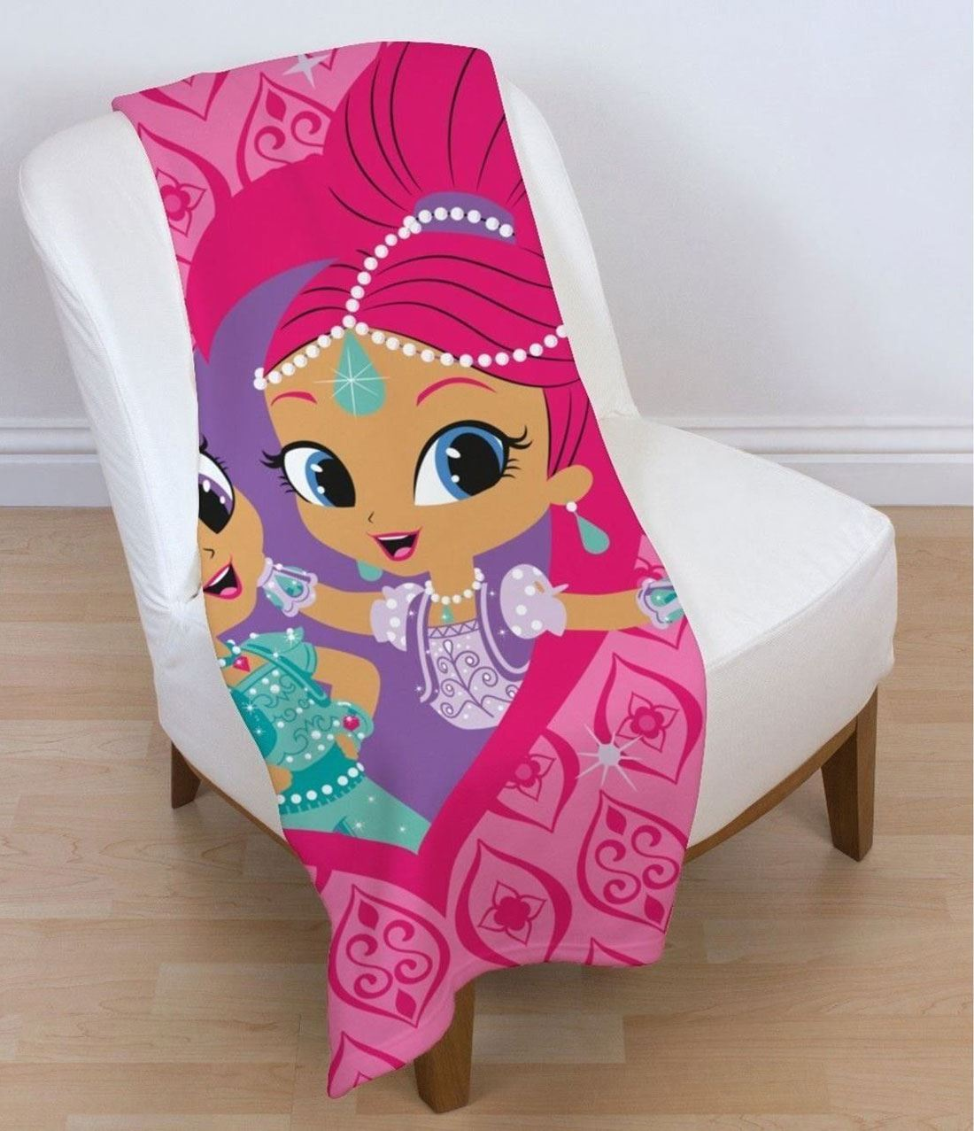 Zahramay-Shimmer-And-Shine-Kids-Warm-Soft-Comfortable-Fleece-Bedroom-Blanket thumbnail 3
