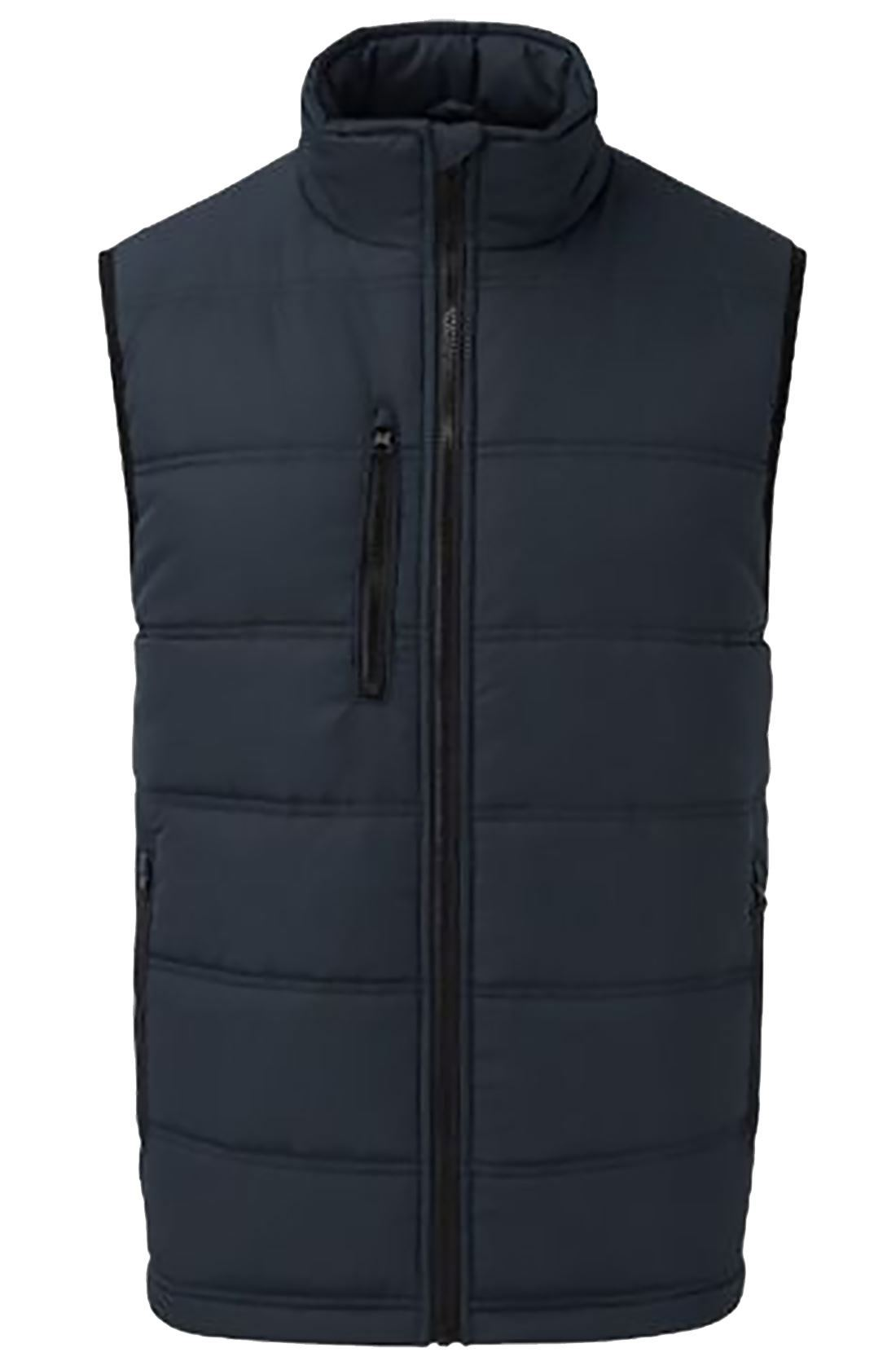 Boys Quilted Padded Sleeveless Jacket Mens Zip Up Out Door ...