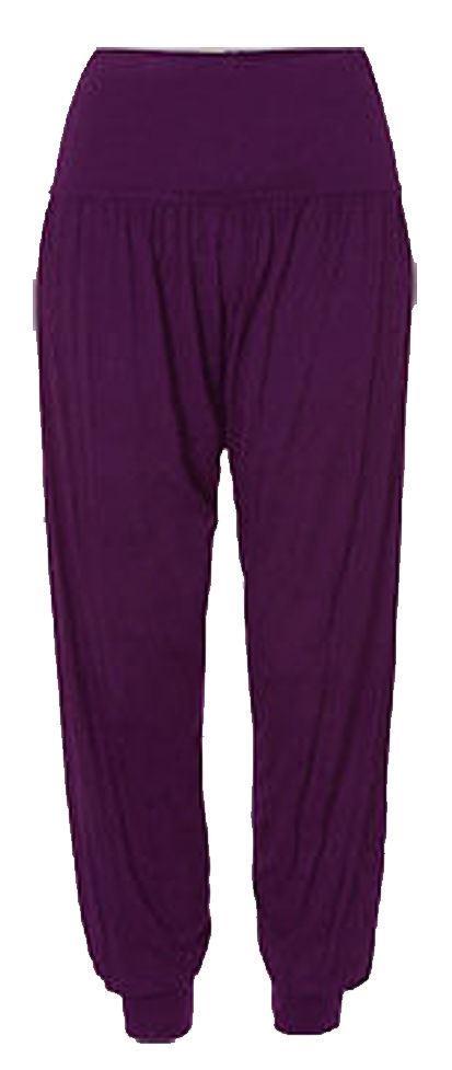 Ladies-Plus-Size-Printed-Harem-Pants-Cuffed-Bottom-Ali-Baba-Womens-Trousers-8-26 thumbnail 7