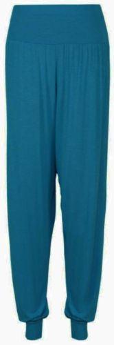 Ladies-Plus-Size-Printed-Harem-Pants-Cuffed-Bottom-Ali-Baba-Womens-Trousers-8-26 thumbnail 9