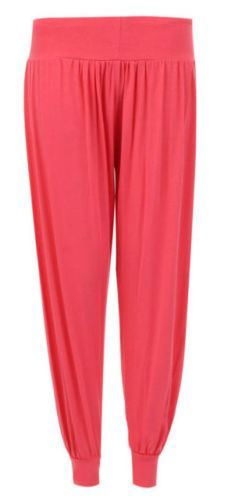 Ladies-Plus-Size-Printed-Harem-Pants-Cuffed-Bottom-Ali-Baba-Womens-Trousers-8-26 thumbnail 4