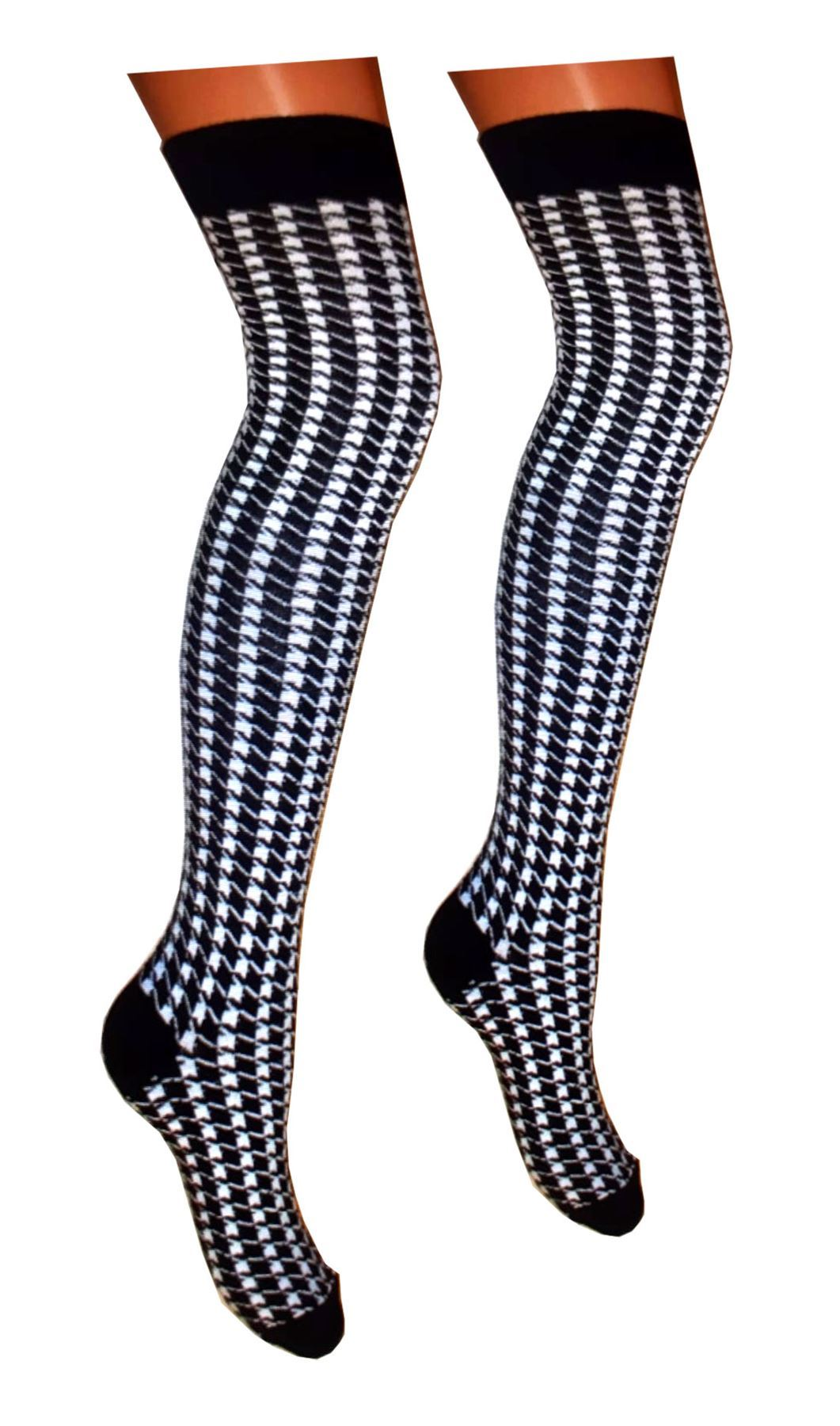 Womens-Over-The-Knee-Thigh-High-Fancy-Socks-Ladies-Plain-Casual-Wear-OTK-Socks thumbnail 40