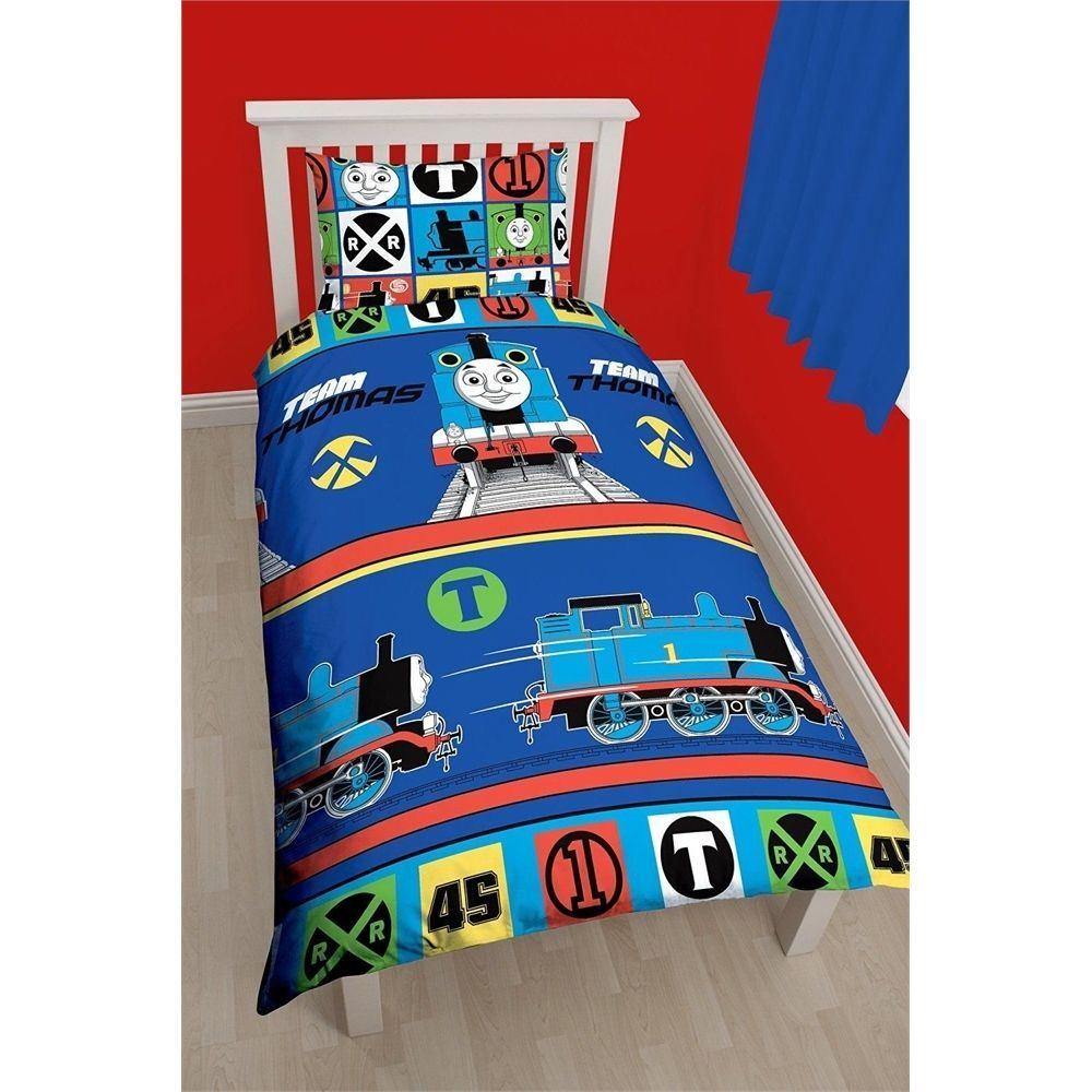 Thomas-The-Tank-Team-Printed-Reversible-Rotary-Children-Single-Duvet-Pillow-Set