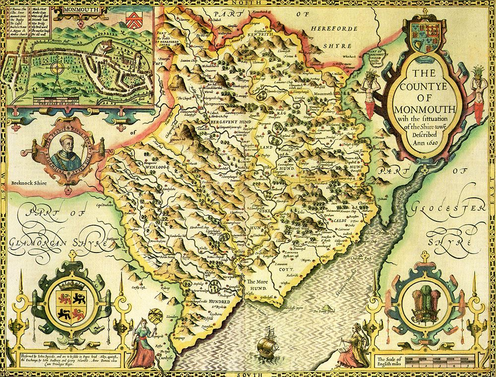 Monmouthshire historical map 1000 piece jigsaw puzzle 1610 john monmouthshire historical map 1000 piece jigsaw puzzle 1610 john speed gumiabroncs Choice Image