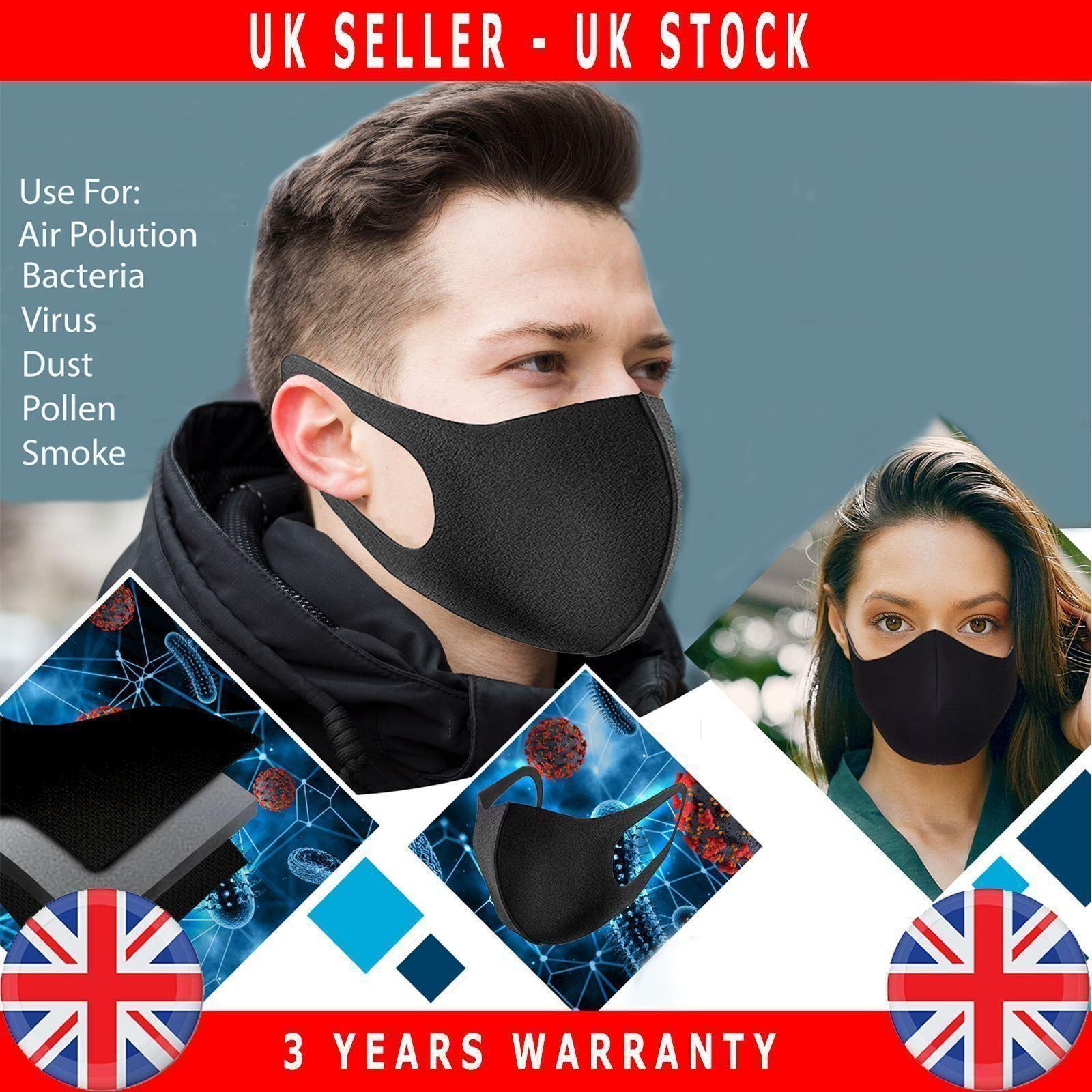 Reusable-Face-Mask-Mouth-Nose-Breathable-Washable-Antibacteriel thumbnail 4