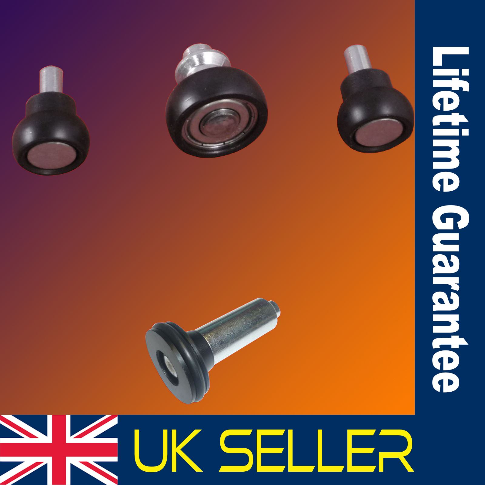 Bottom/&Top Vauxhall Movano sliding door roller guide /& hinge bearing