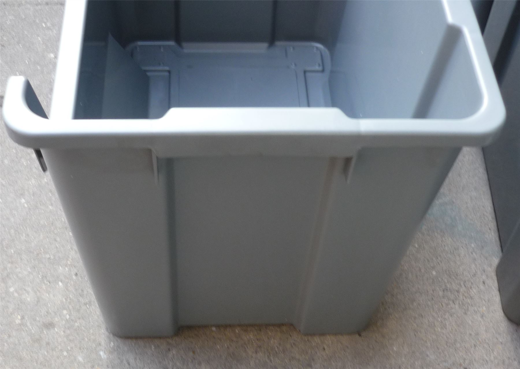 EXTRA Large Plastic Storage Bins Boxes Stackable Space
