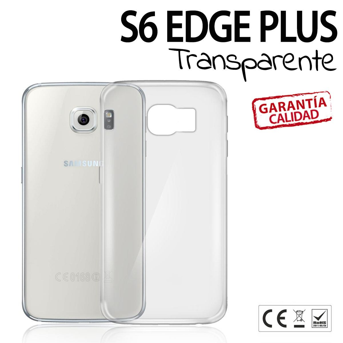 carcasa transparente galaxy s6