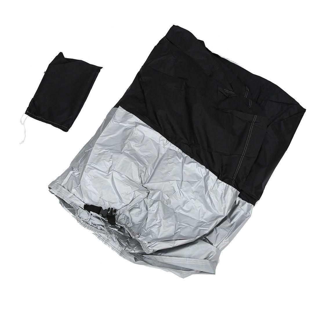 Funda-Impermeable-Protectora-Cubre-Moto-Cosida-Muy-Resistente-Tallas-M-XXL miniatura 7