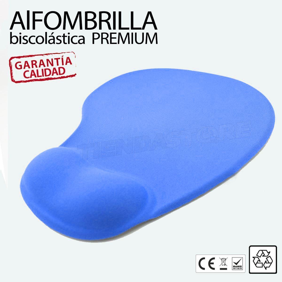Alfombrilla-de-Raton-Ergonomica-mousepad-Apoyo-descanso-de-Muneca-Reposamunecas miniatura 5