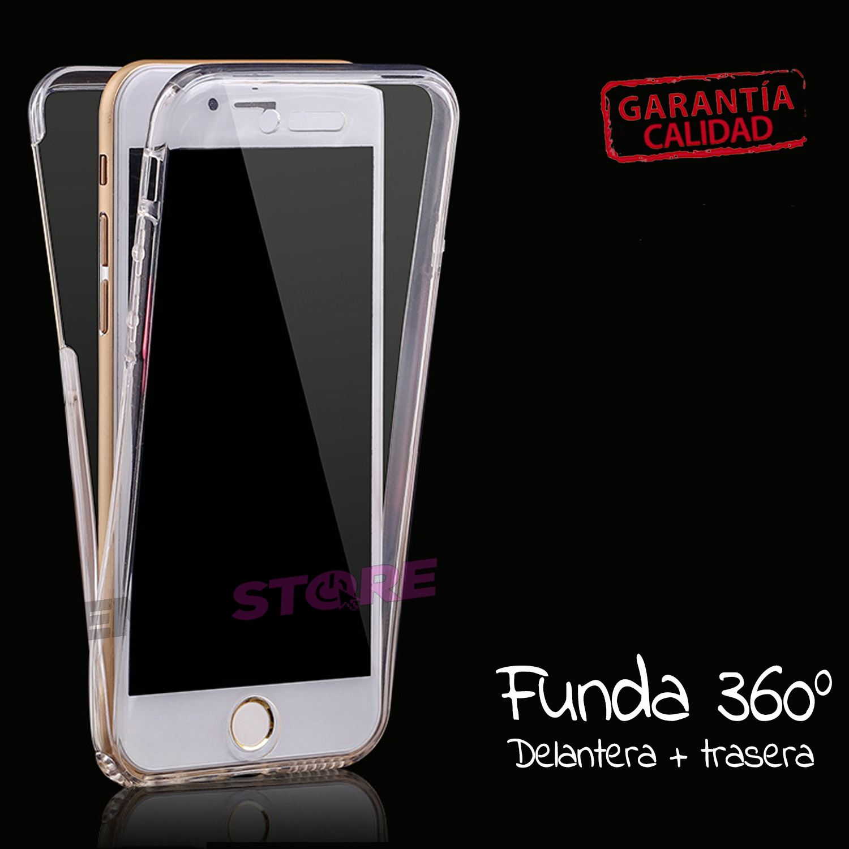 carcasas iphone x 360 transparente