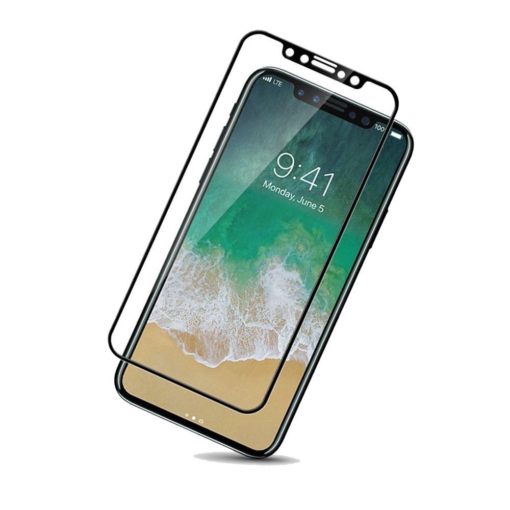 Cristal-templado-protector-de-pantalla-3D-para-iPhone-X-XS-XR-XS-MAX miniatura 5