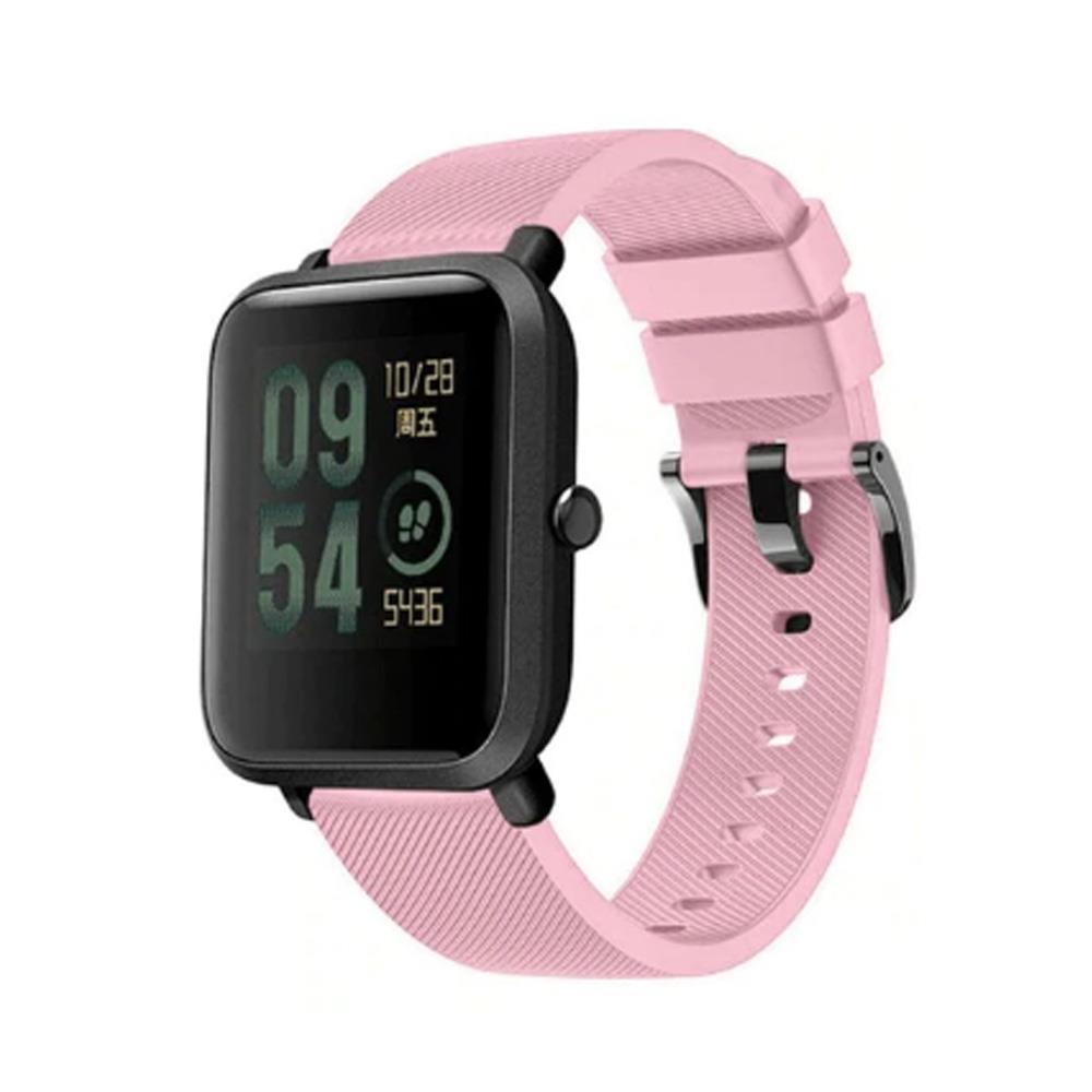 Correa-pulsera-de-silicona-recambio-para-Xiaomi-Amazfit-Bip-GTS-Stratos-y-Pace miniatura 26