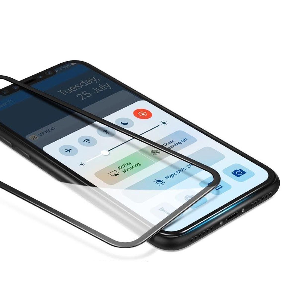 Cristal-templado-protector-de-pantalla-3D-para-iPhone-X-XS-XR-XS-MAX miniatura 10