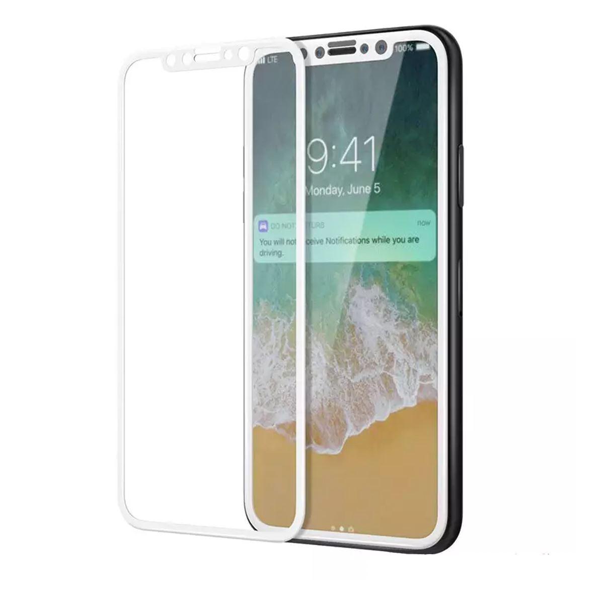 Cristal-templado-protector-de-pantalla-3D-para-iPhone-X-XS-XR-XS-MAX miniatura 3
