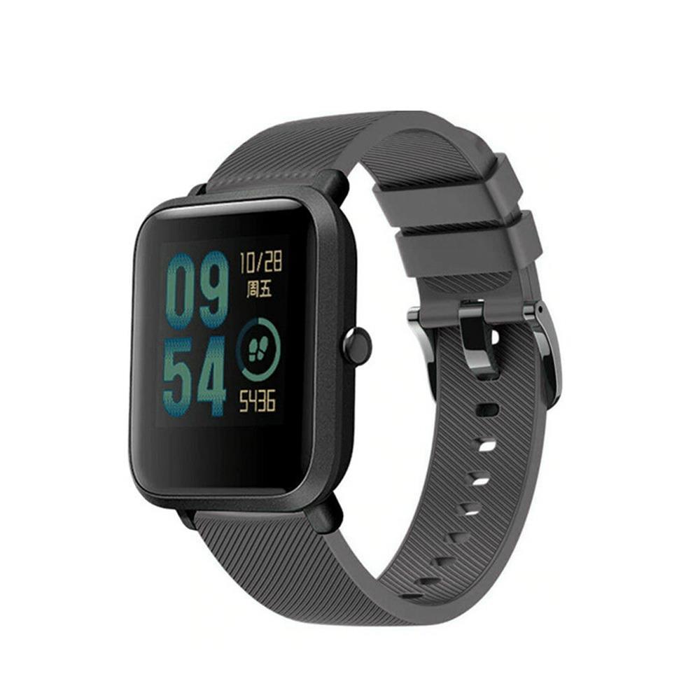 Correa-pulsera-de-silicona-recambio-para-Xiaomi-Amazfit-Bip-GTS-Stratos-y-Pace miniatura 19