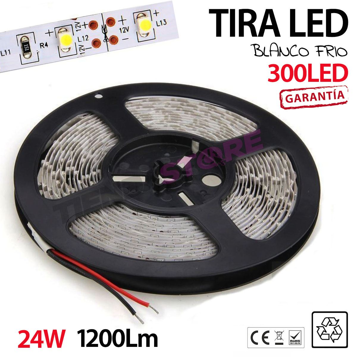 Tiras-de-luces-LED-5-metros-3528-BLANCO-ROLLO-LED-BLANCO-FRIO-CALIDO-300-LEDS