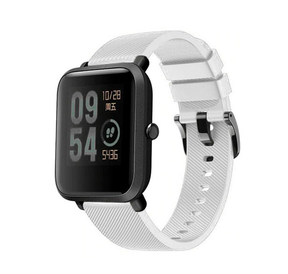 Correa-pulsera-de-silicona-recambio-para-Xiaomi-Amazfit-Bip-GTS-Stratos-y-Pace miniatura 10