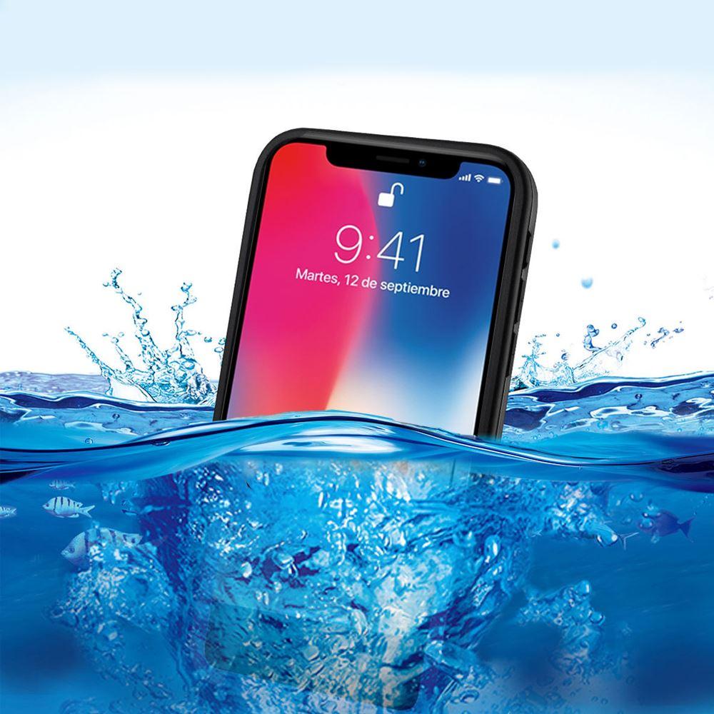 07763b21499 Carcasa para el agua IPHONE XS funda de silicona acuática y ...