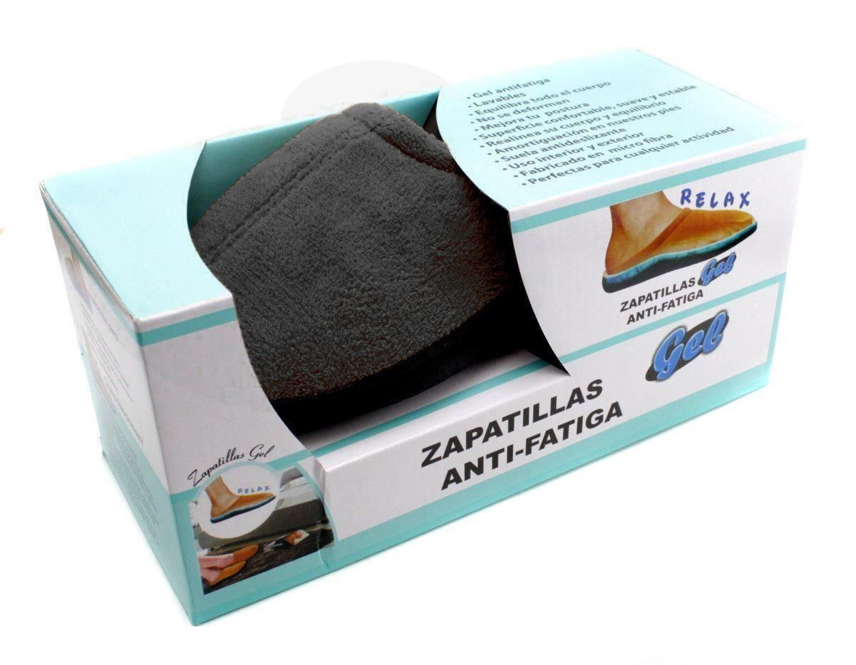 ZAPATILLAS-CASA-ANTIFATIGA-PLANTILLA-DE-GEL-DESCANSO-Y-CONFORT-PARA-HOMBRE-MUJER