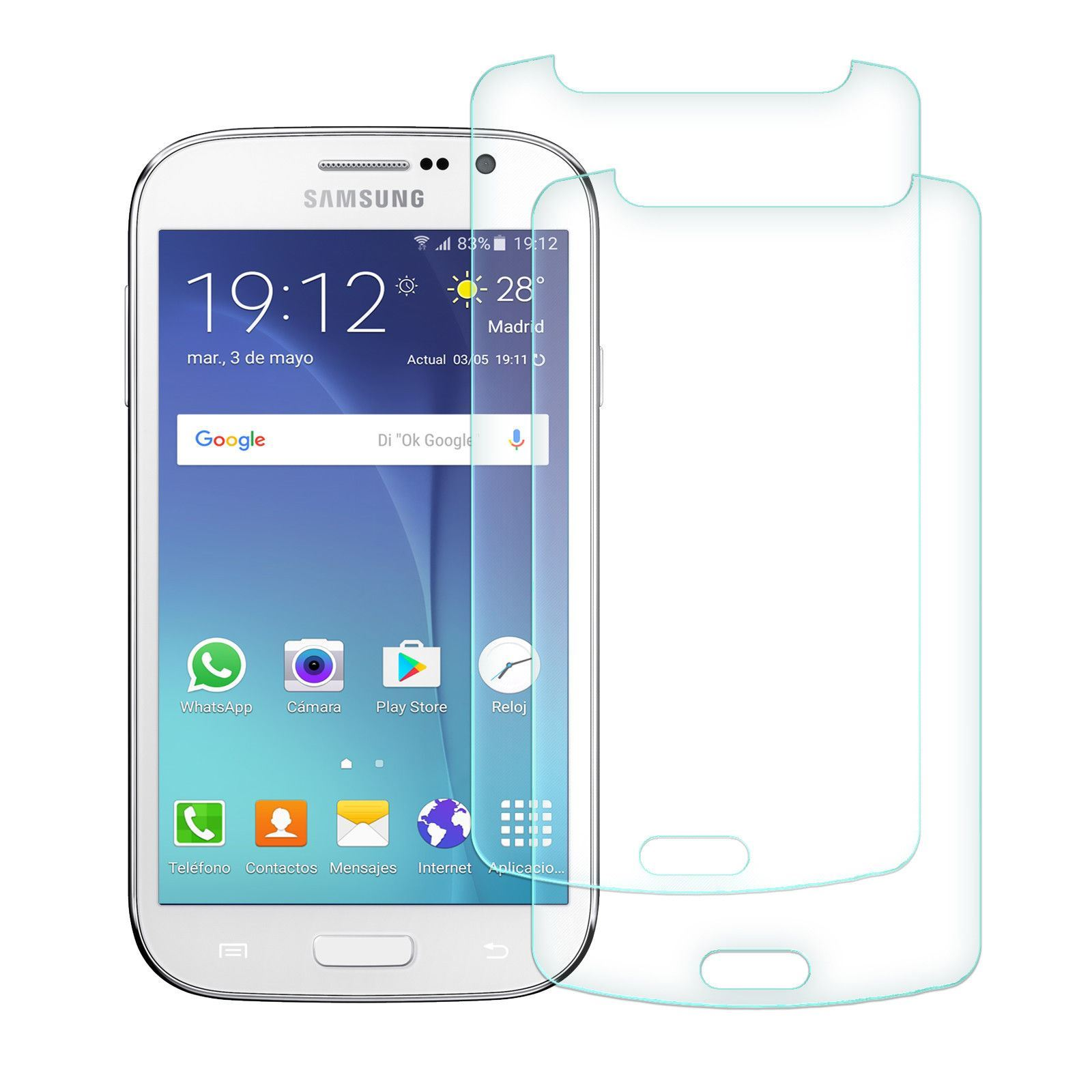 2x-Protector-Cristal-Templado-Para-Samsung-Galaxy-J3-J5-J7-2016