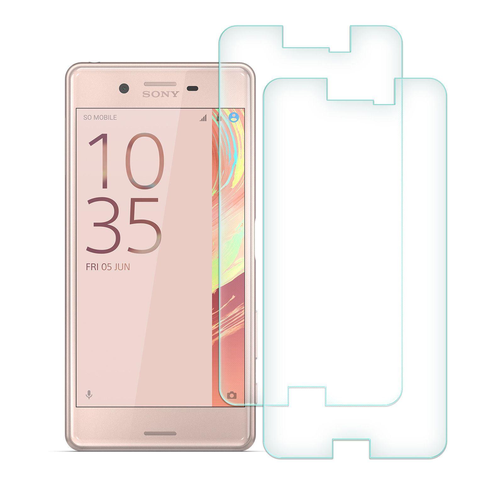 2x-Pellicola-In-Vetro-Temperato-Per-Sony-Ericsson-Xperia-E5-Z3-Z5