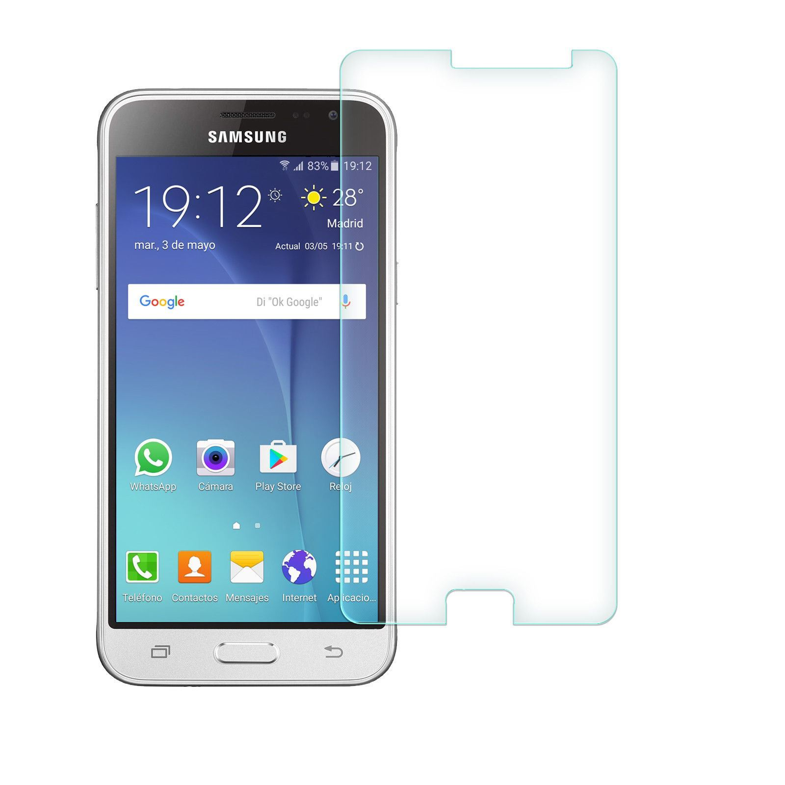 Vitre-Protecteur-Verre-Trempe-Pour-Samsung-Galaxy-A3-A5-J3-J5-J7