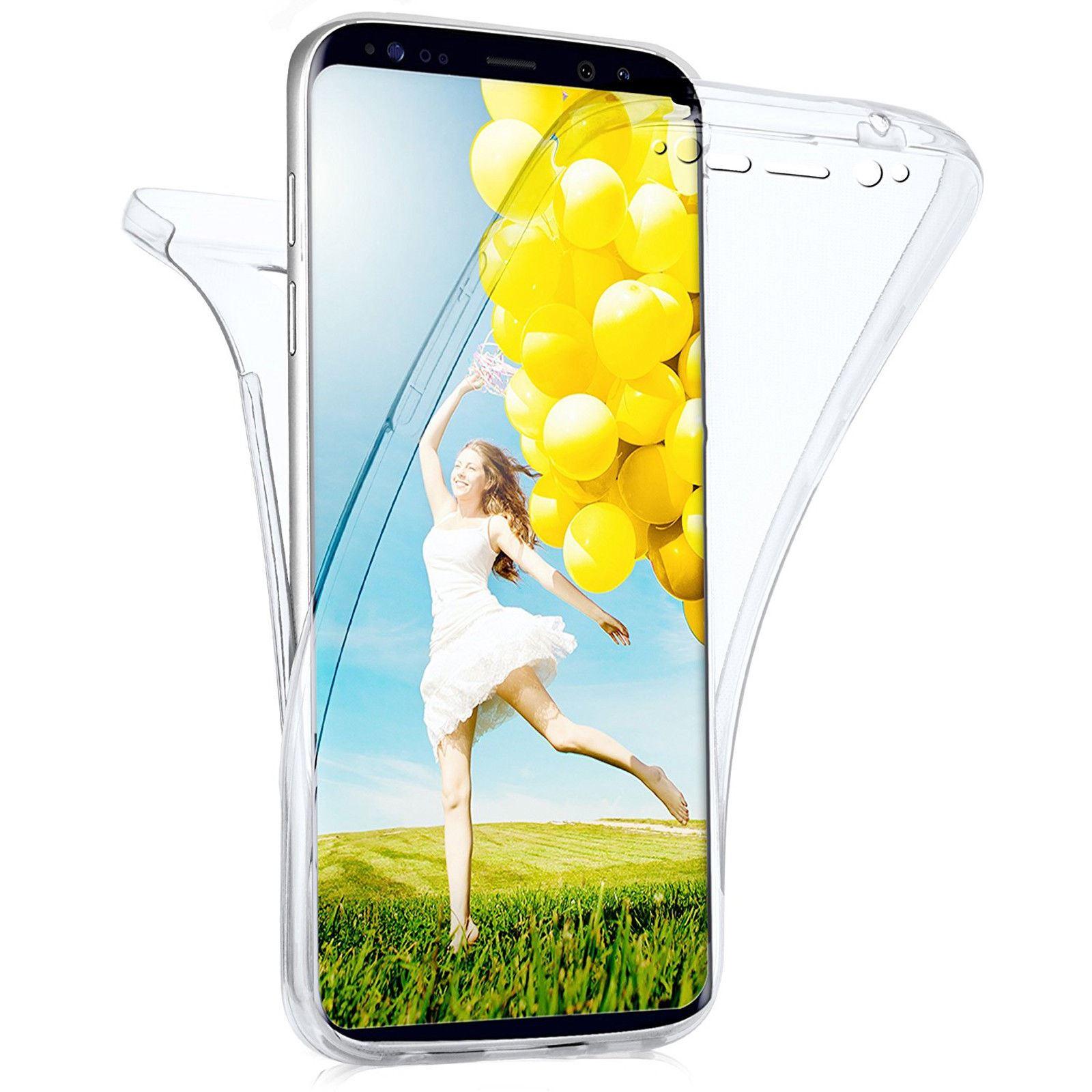 Funda-doble-silicona-TPU-Transparente-para-Samsung-Galaxy-S7-Edge-Hibrida-360