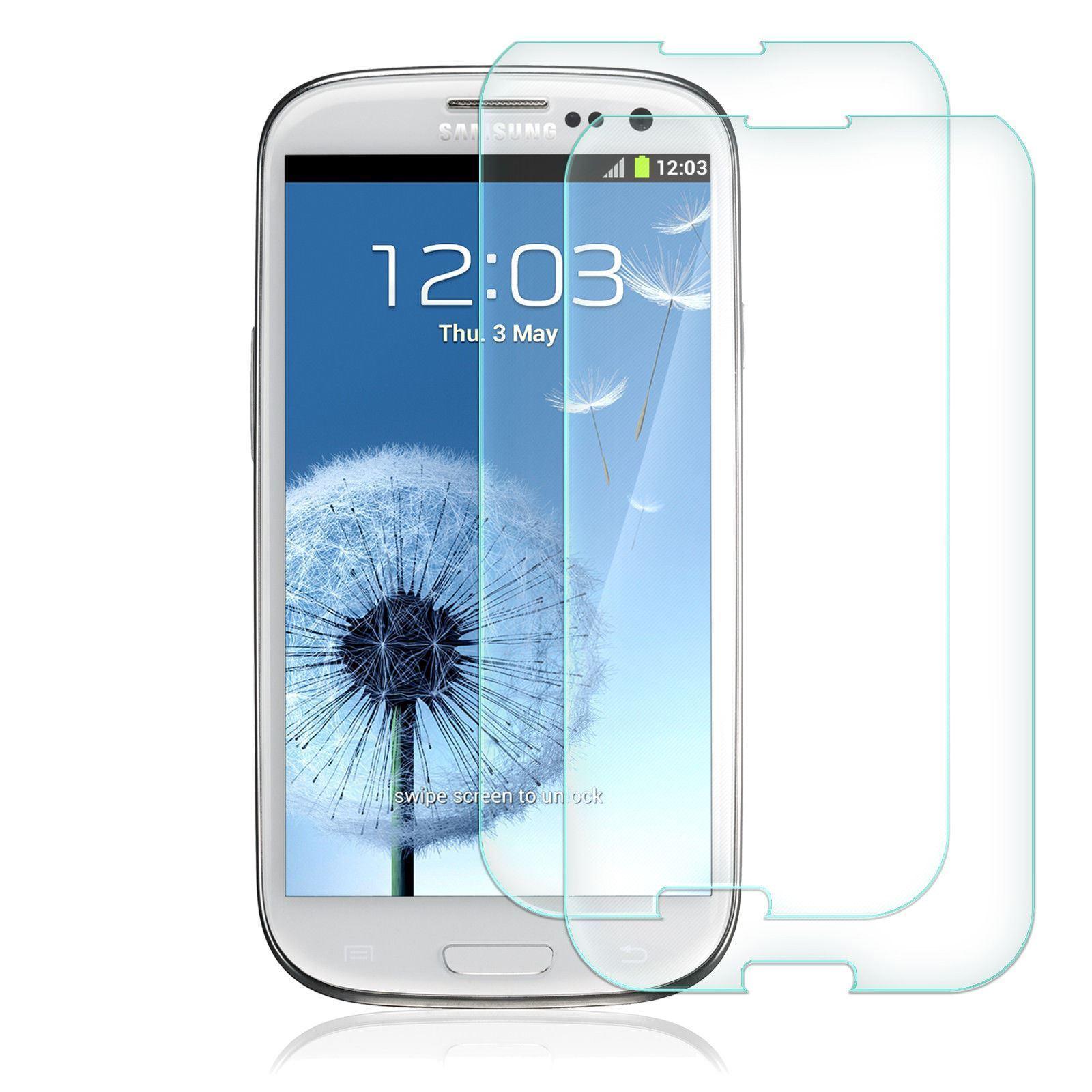 2x-Protector-Cristal-Templado-Para-Samsung-Galaxy-S3-S3-Mini-S5-S6-S7
